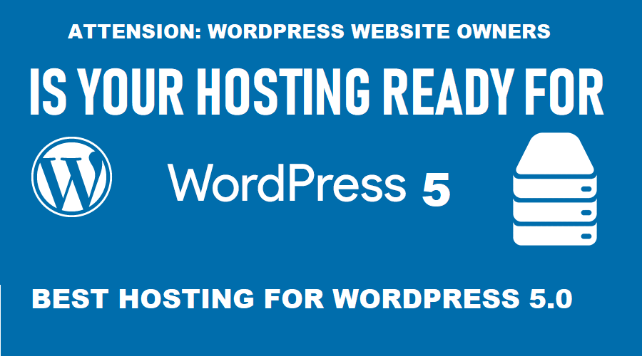 Best Hosting for WordPress 5